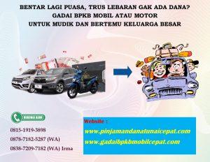 Gadai BPKB MObil Motor Sertifikat bunga murah