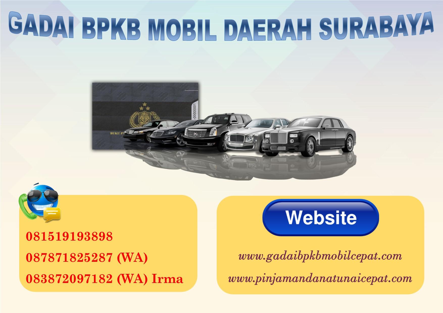 gadai BPKB mobil daerah Surabaya