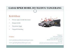 Gadai BPKB Mobil Di Ciledug Tangerang