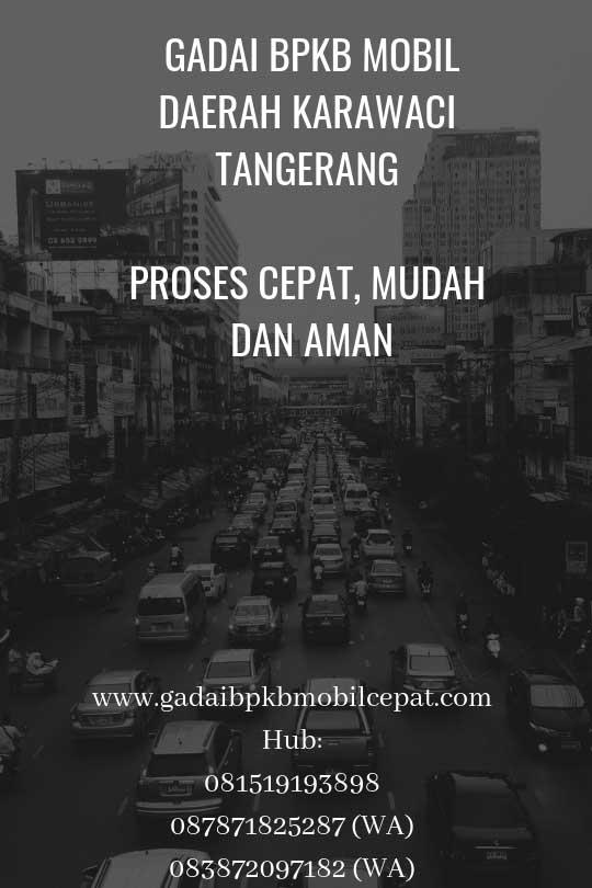 Gadai BPKB Mobil Daerah Karawaci Tangerang