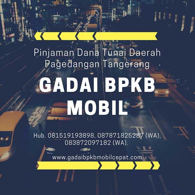 Gadai BPKB Mobil Daerah Pagedangan Tangerang