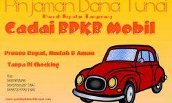 Gadai BPKB Mobil Daerah Sepatan Tangerang