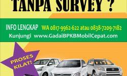 Mau Gadai BPKB Mobil Tanpa Survey?