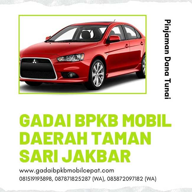 Gadai BPKB Mobil Daerah Taman Sari Jakarta Barat