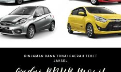 Gadai BPKB Mobil Daerah Tebet Jakarta Selatan